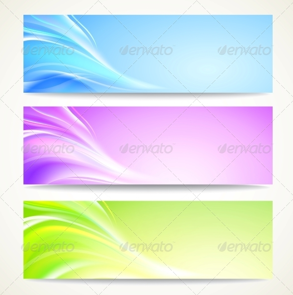 GraphicRiver Abstract Banners Set 3867295