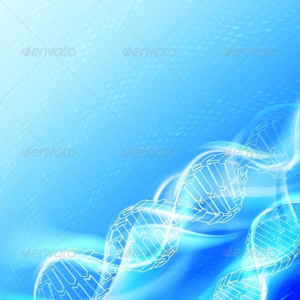 GraphicRiver DNA Magic Figures 3867304