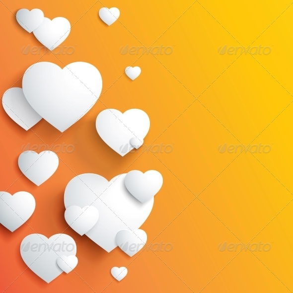 GraphicRiver Stylish White Heart 3867330