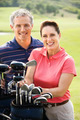 Couple on golf course - PhotoDune Item for Sale