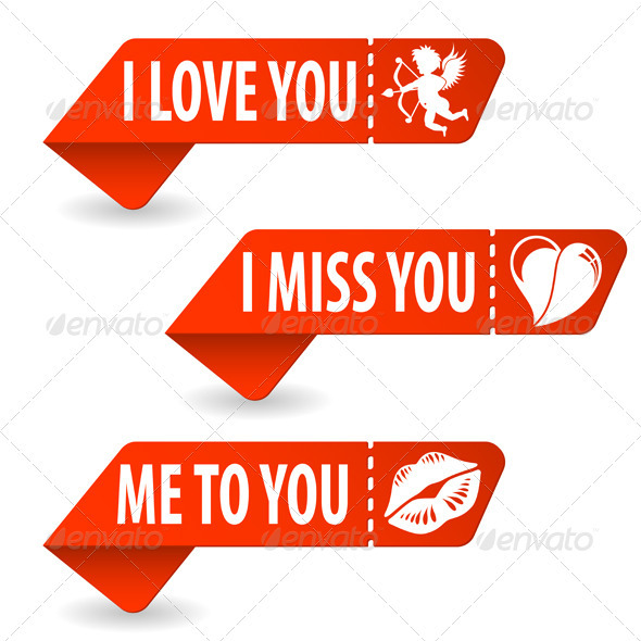 GraphicRiver Collect Valentines Day Signs 3868203