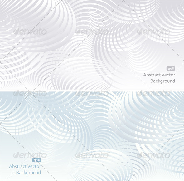 GraphicRiver Two light Abstract Background 3869471