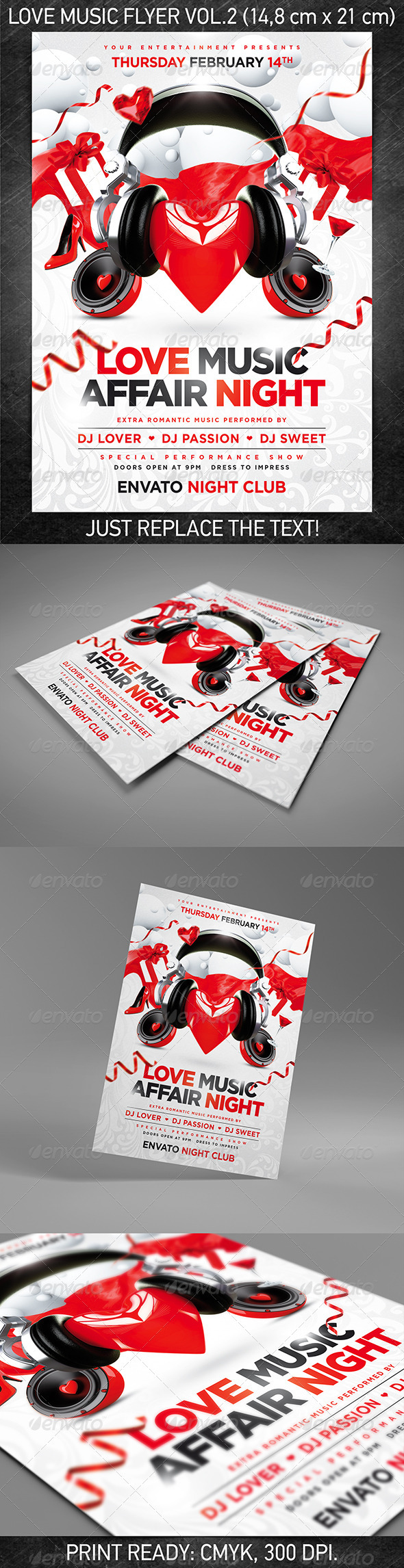 Love music flyer vol.2 - Events Flyers