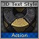 3D Text Effect Action - GraphicRiver Item for Sale