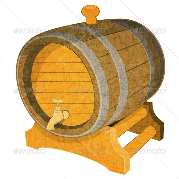GraphicRiver Wine Cask 3869648