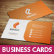 Energy Business Cards - GraphicRiver Item for Sale