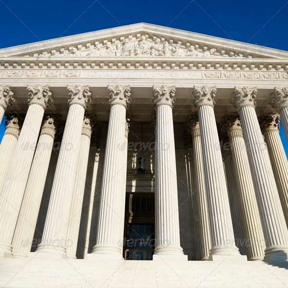 Supreme Court Building - Stock Photo - Images