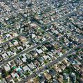 Urban sprawl houses
