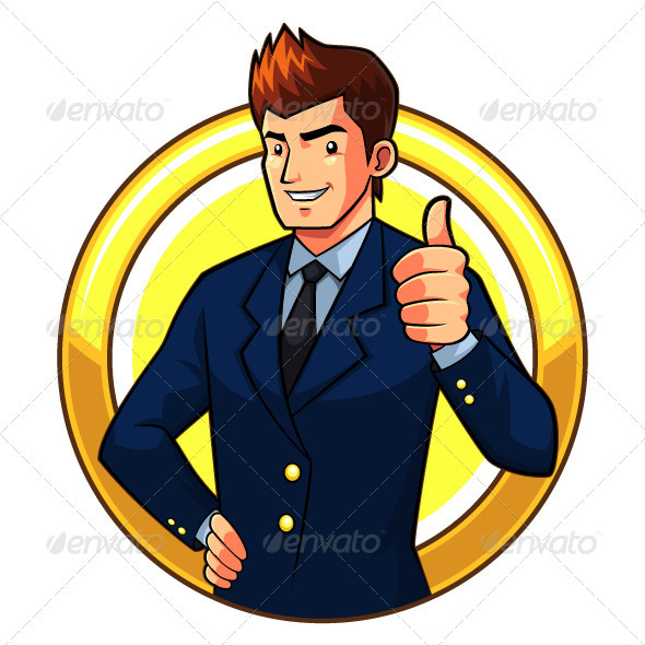 Great Businessman - People Characters