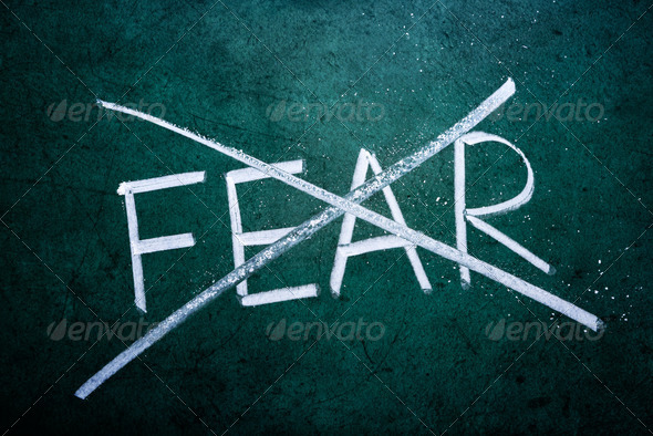 No fear concept - Stock Photo - Images