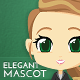 Elegant Business Woman Mascot - GraphicRiver Item for Sale