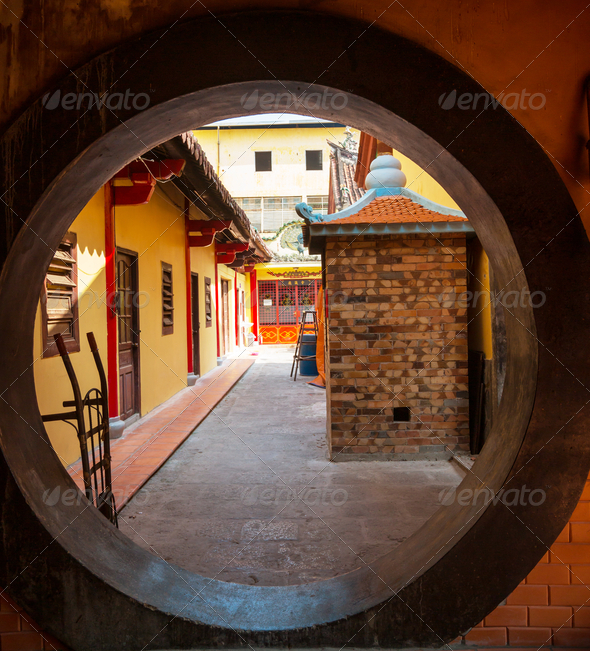 Chinese temple - Stock Photo - Images