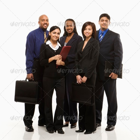 PhotoDune Business group portrait 418387