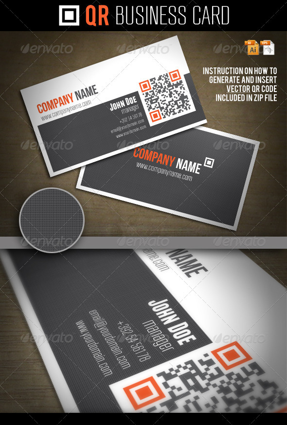 QR Business Card - Creative Business Cards