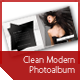 Clean Modern Photo Album - GraphicRiver Item for Sale