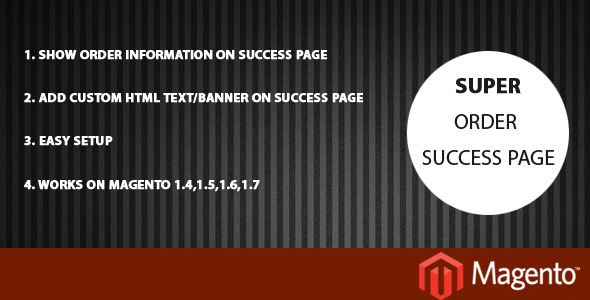 CodeCanyon Order Info on Checkout Success Page 3862570
