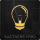 Bright Ideas Business Card - GraphicRiver Item for Sale