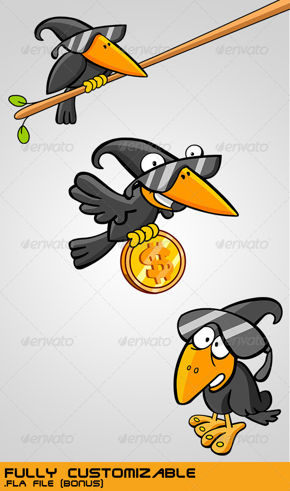 GraphicRiver Spy Agent Crows 3757164