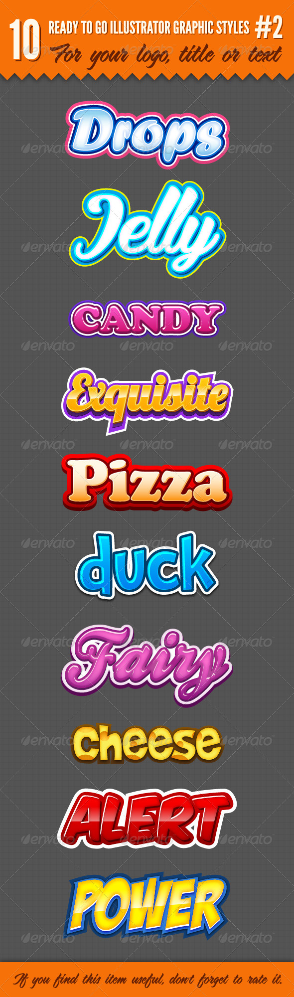 GraphicRiver 10 Logo Graphic Styles #2 3882598
