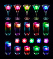 Mixed Colored Drinks - PhotoDune Item for Sale