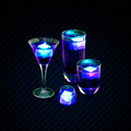 Purple Assorted Mixed Drinks - PhotoDune Item for Sale