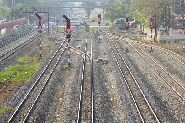 PhotoDune railway junction 3883210