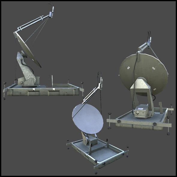 3DOcean Military Satellite Dish 3883157