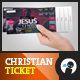 Multipurpose Christian Celebration Ticket 2 - GraphicRiver Item for Sale