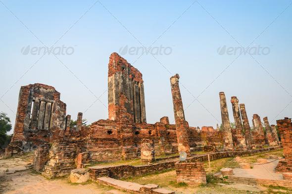 PhotoDune Old brick 3883513