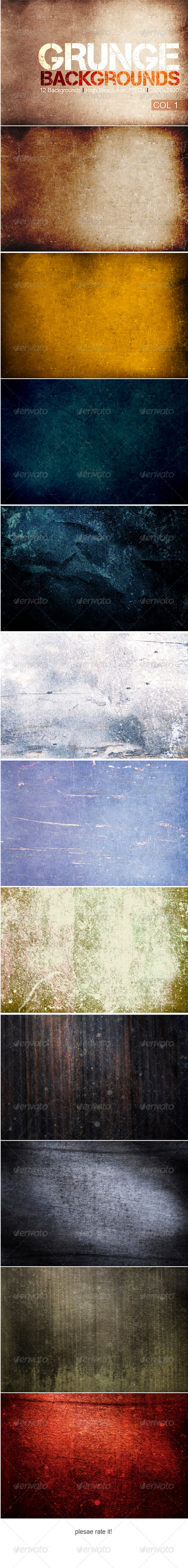 Grunge Backgrounds - Abstract Backgrounds