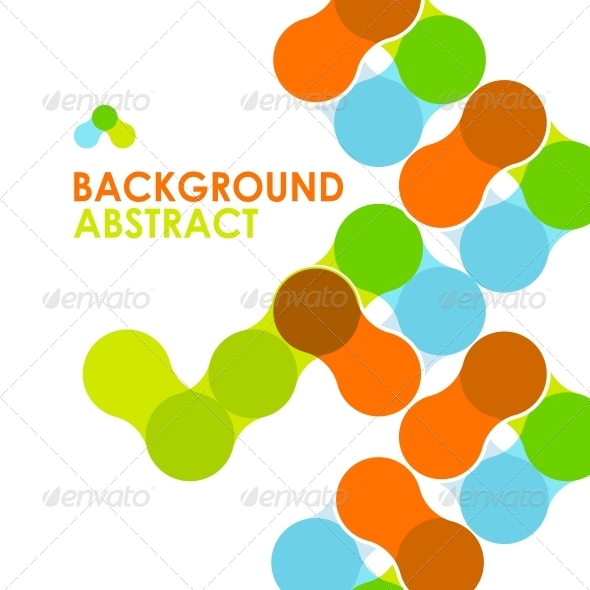Colorful Modern Geometric Abstract Background - Backgrounds Business