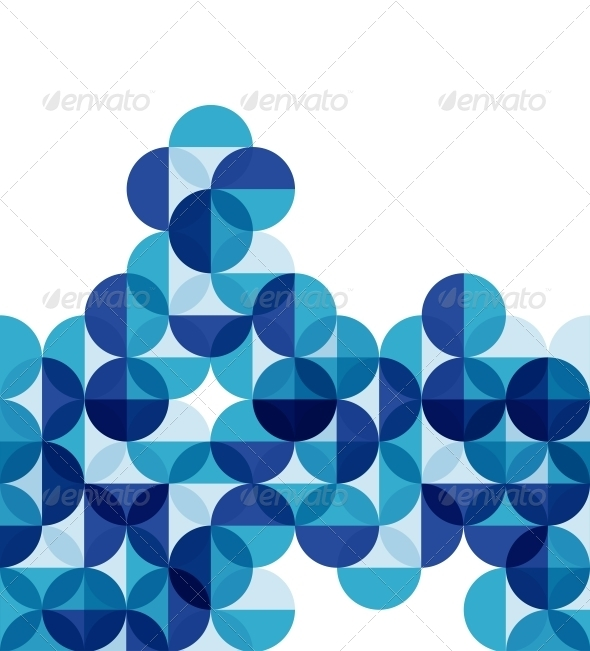 GraphicRiver Blue Modern Geometrical Abstract Background 3883731