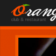 Orange - Responsive HTML Club/Restaurant Theme