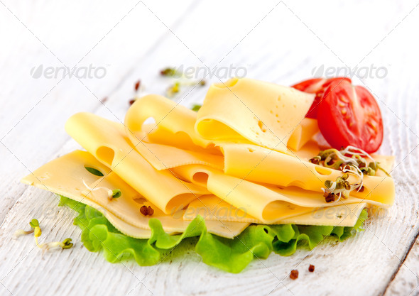 PhotoDune sliced cheese 3884679