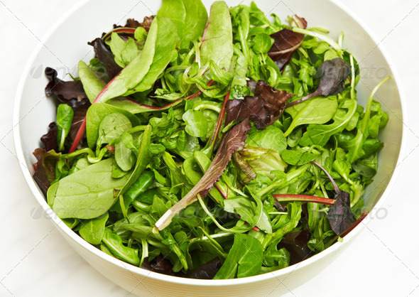 PhotoDune fresh green salad 3884686