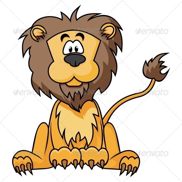 GraphicRiver Cute Lion 3884752