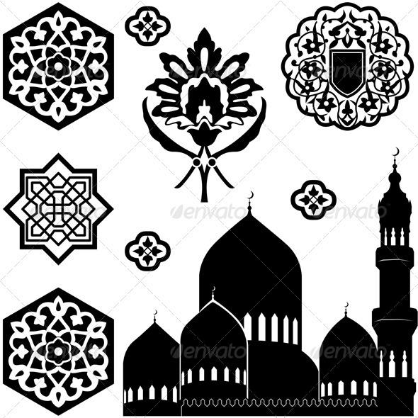 GraphicRiver Islamic ornaments 3885168