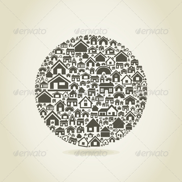GraphicRiver House a sphere 3885169