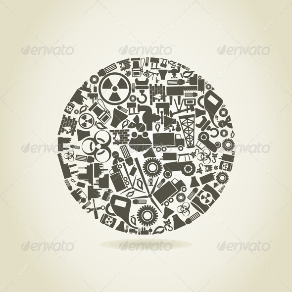 GraphicRiver Industry a sphere 3885171