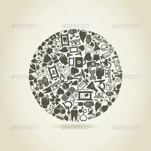 GraphicRiver Medicine a sphere 3885178