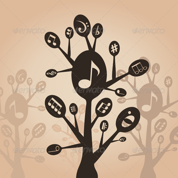 GraphicRiver Musical spoon 3885198