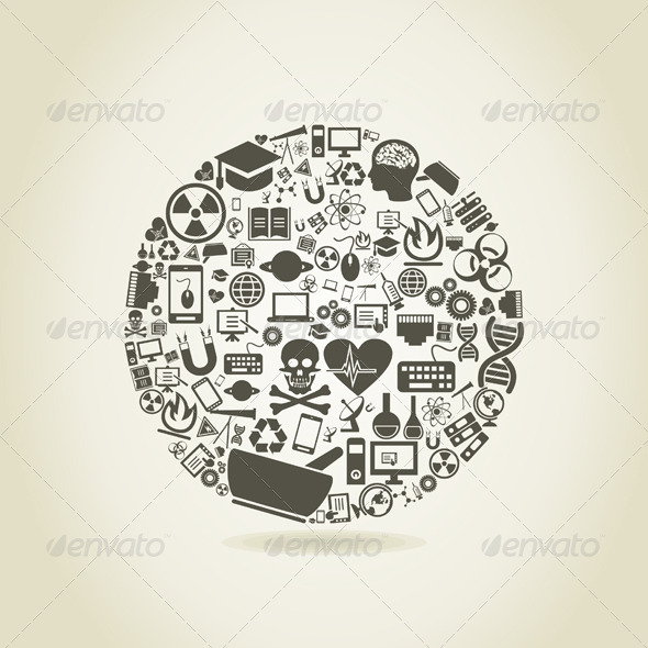 GraphicRiver Science a sphere 3885204