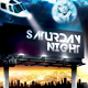 Saturday Night Flyer Template - GraphicRiver Item for Sale