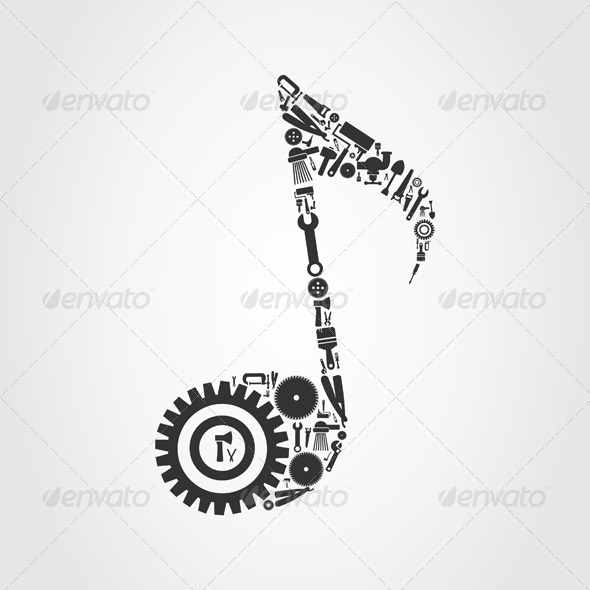 GraphicRiver Tool the note 3885234