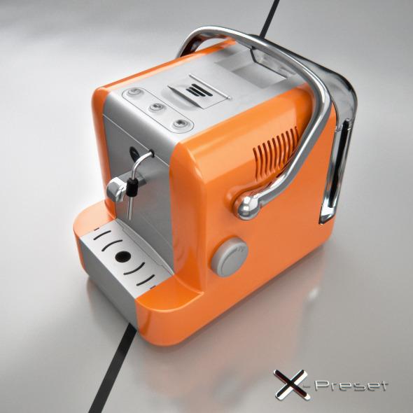 Lavazza A Modo Mio - 3DOcean Item for Sale