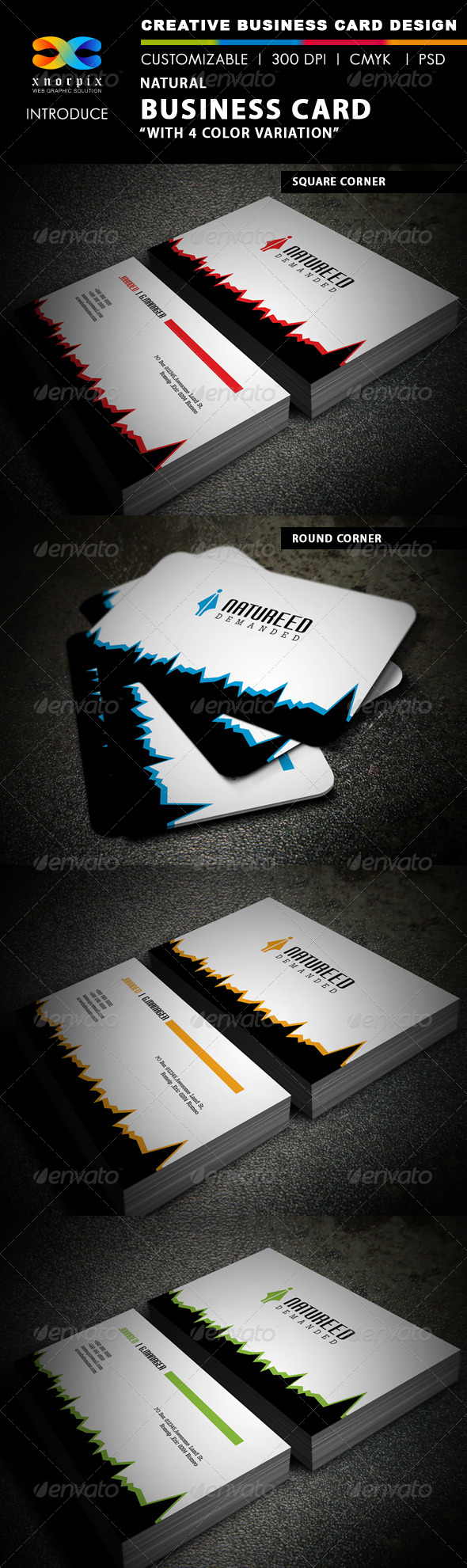 Natural Business Card - Creative Business Cards
