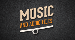 Music and Audio Files
