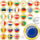 Download Vector European Union Buttons