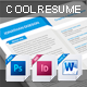 Cool Resume - GraphicRiver Item for Sale