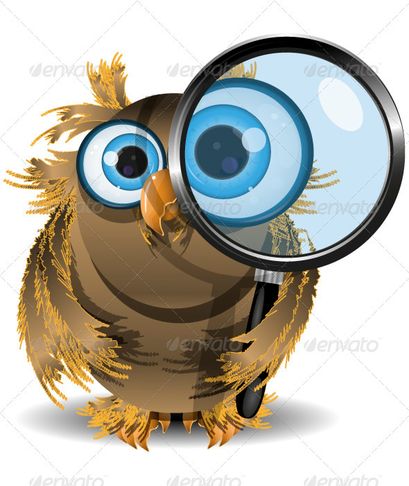 GraphicRiver Curious Owl 3886089